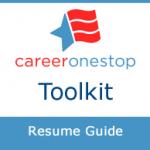 CareerOneStop's Resume Guide logo