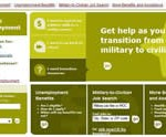 homepage of Veteran's ReEmployment website