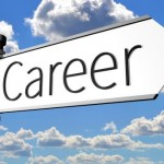 image of sign saying career