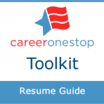 CareerOneStop's Resume Guide logo