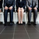 job applicants waiting