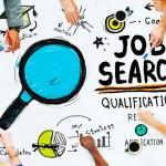 graphic of job search topics
