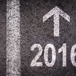 2016 with arrow pointing forward