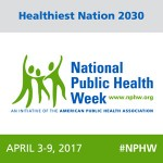 National Public Health Week logo