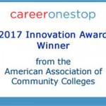 Logo og AACC Innovation Award winner