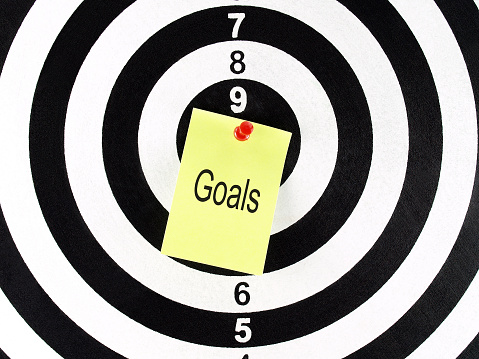 """Target with """"goals"""" in center"""