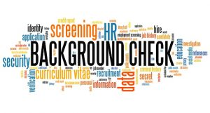 word cloud of employment check language