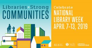 National Library Week 2019 logo