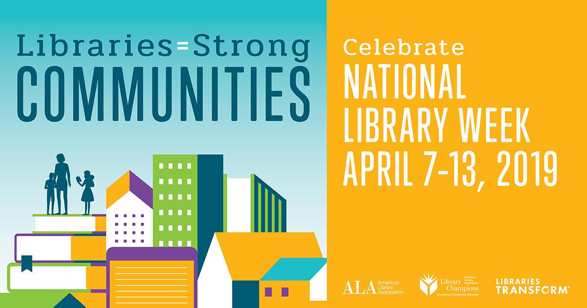 National Library Week 2019 logo