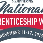 Natioanl Apprenticeship Week 2019 logo