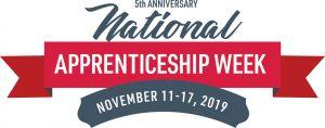 Natioanl Apprenticeship Week 2019 logo