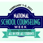 National School Counseling Week 2021 graphic