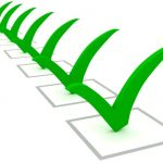 image of green checklist